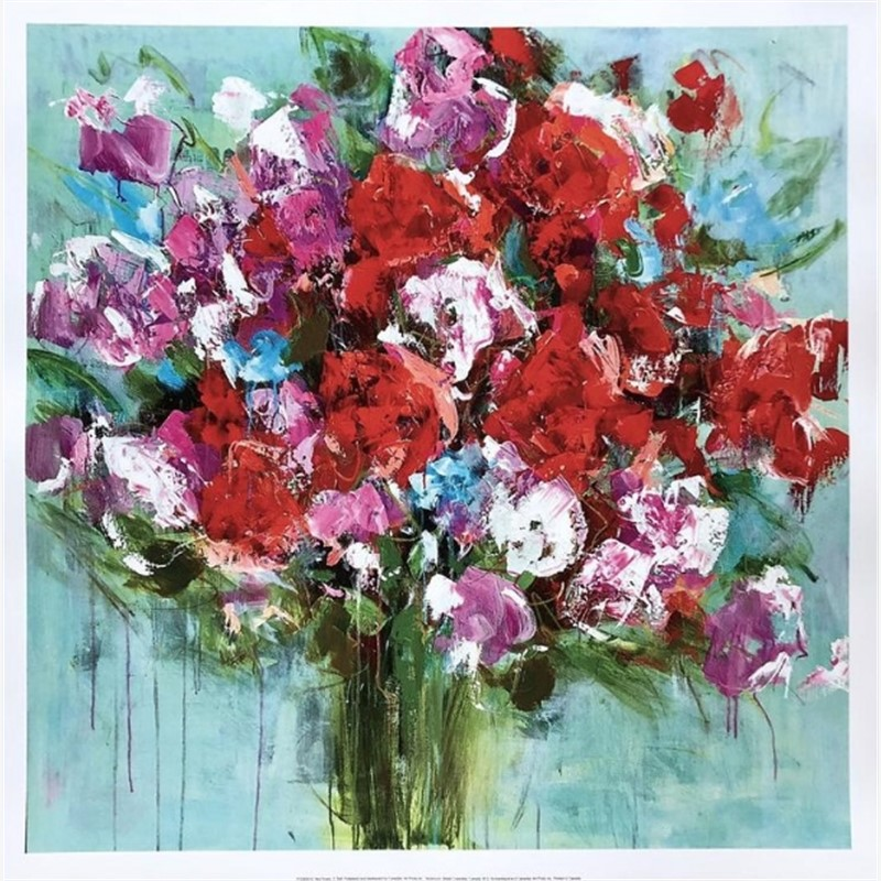 Red Roses Print 4, 2019