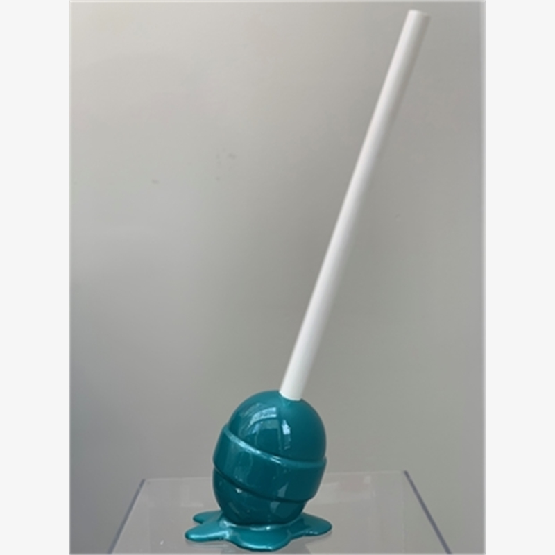 """The Sweet Life"" Dark Teal Lollipop - Small"