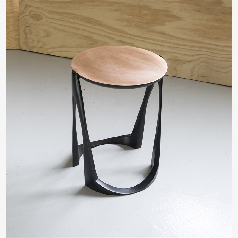 Side table bronze , 2018