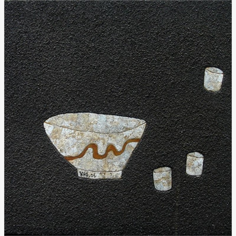 Bowl and Teacups I, 2006