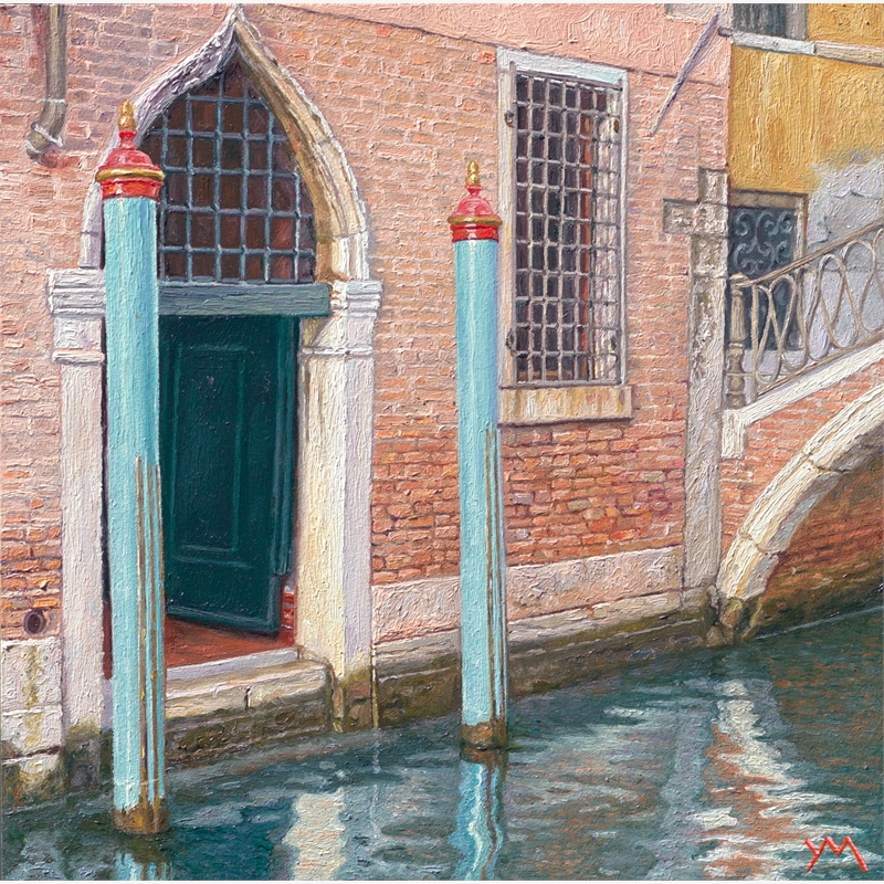 Reflections V (Autumn in Venice) by Yvonne Melchers