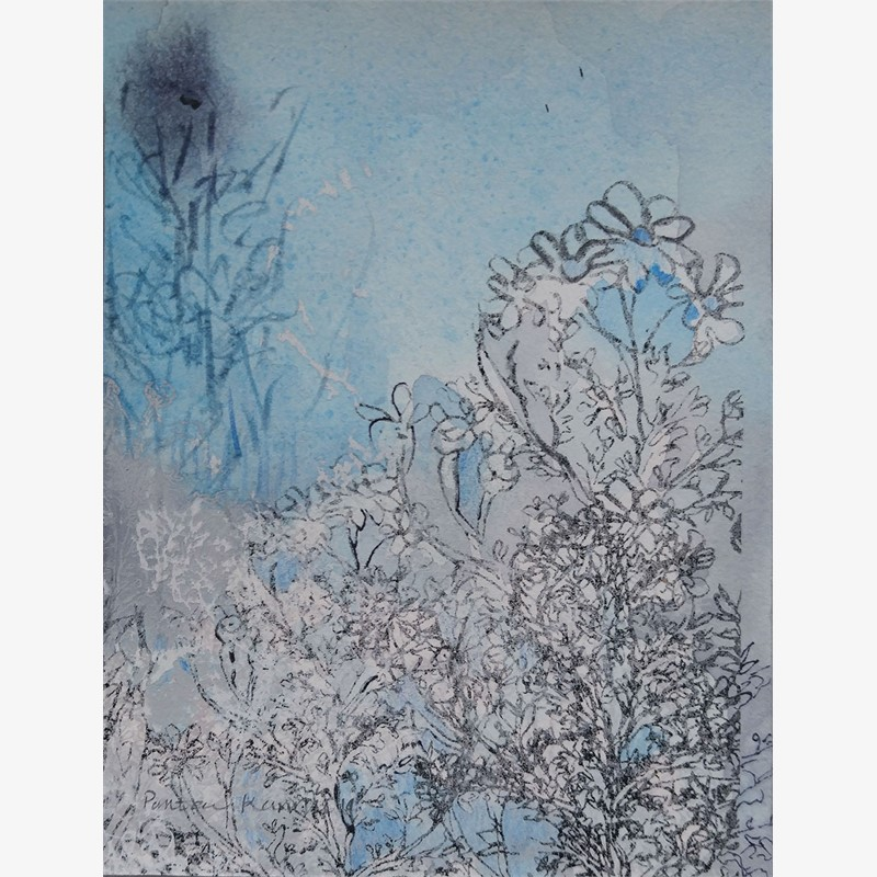 Blue Garden ii, 2019