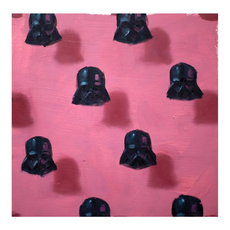 Vaders on Pink by Dan Pelonis
