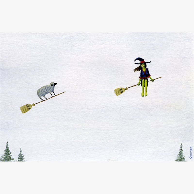 Sheep Following Witch, 2019