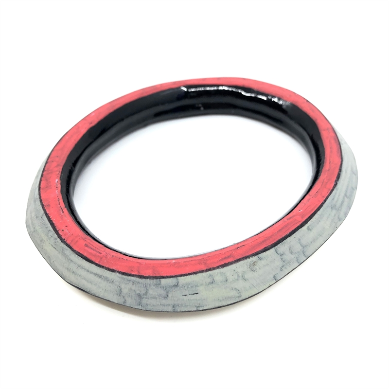 Bangle (red/gray/cream), 2019