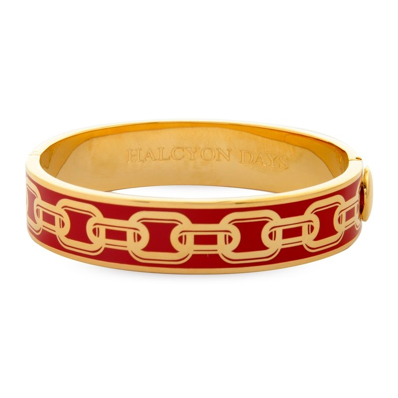 Bangles Chain Red Gold  by Halcyon Days