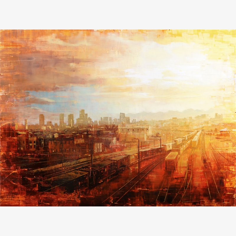 Denver - Afternoon Over the Tracks