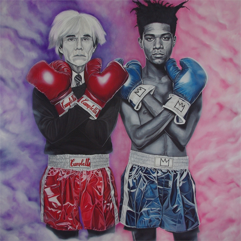 Basquiat VS Warhol , 2016