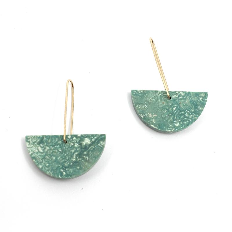 Turquoise Earrings, 2019