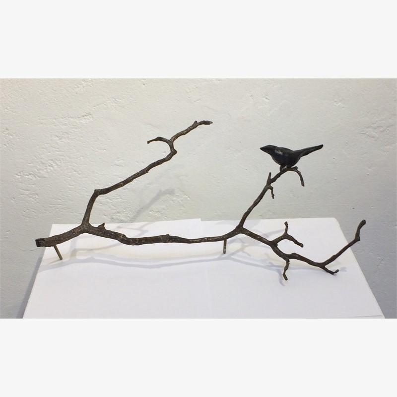 1 Blackbird on a Branch, 2019