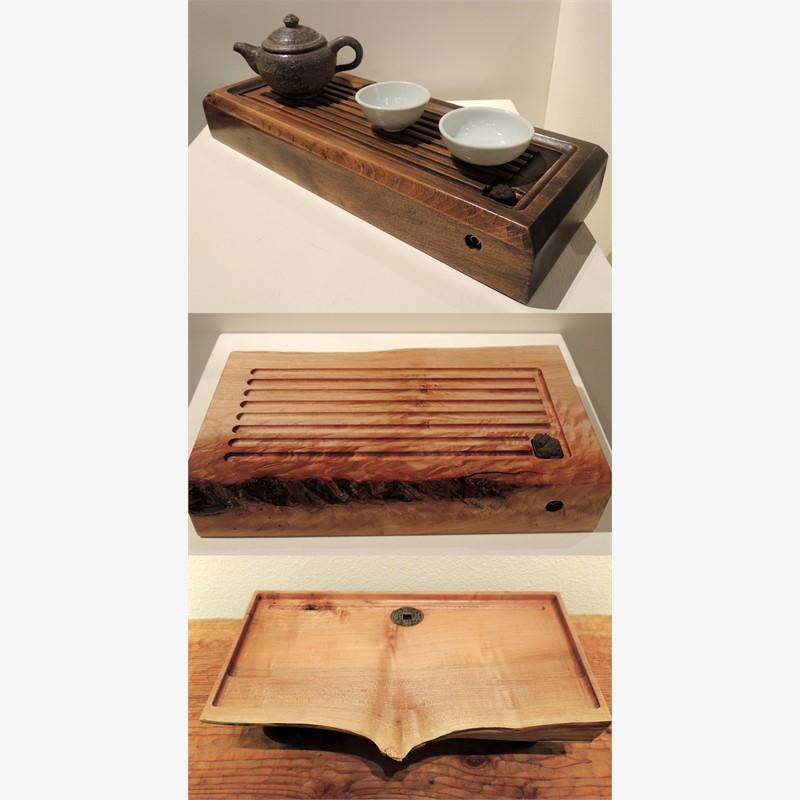 Local Wood Gongfu Tea Trays