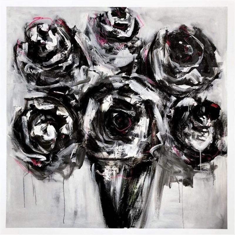 Black Roses Print 1, 2019