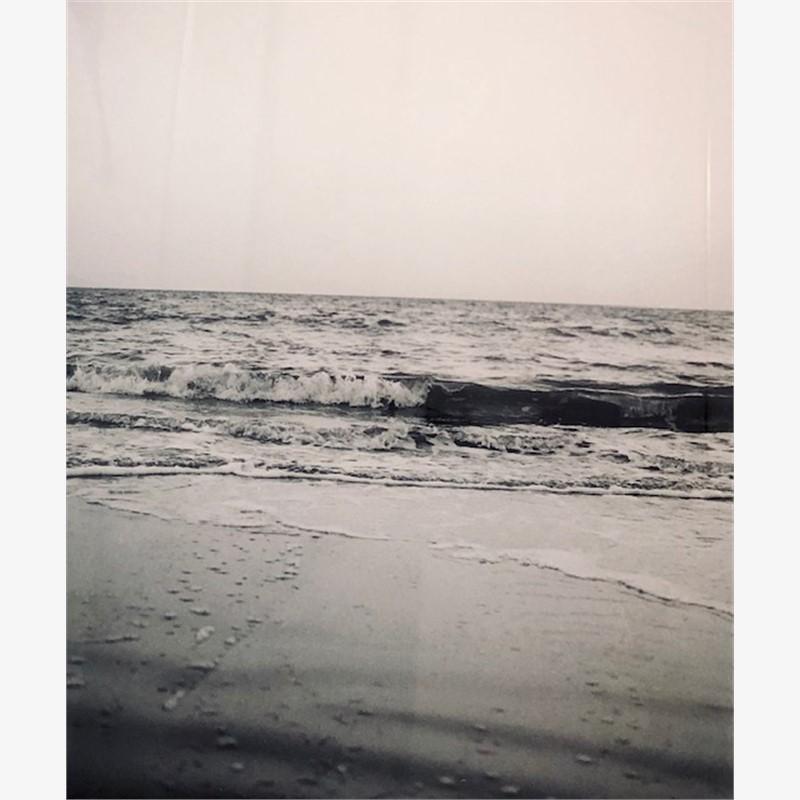 Ocean Waves - film on acrylic