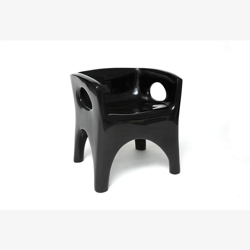 """Toro"" Armchair  by Jacques Jarrige"