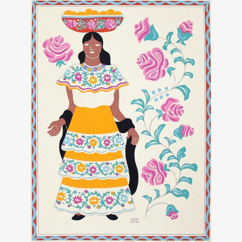 Mestiza, Estado de Chiapas, 1945