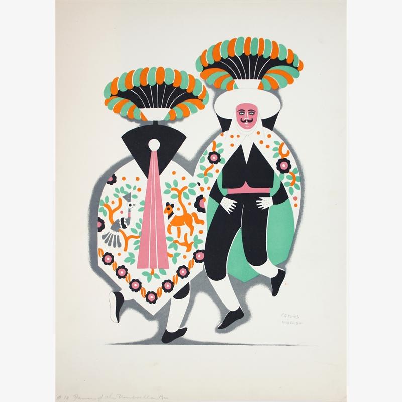 The Umbrella Men, ca. 1930-37