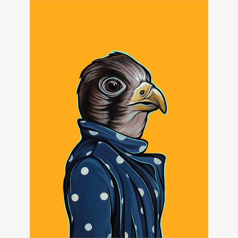 Bird in Your Mom's Coat Falcon, 2018
