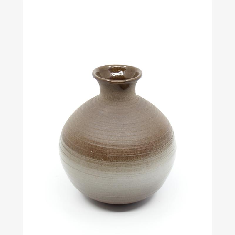 Small Chocolate Sphere Vase V, 2019