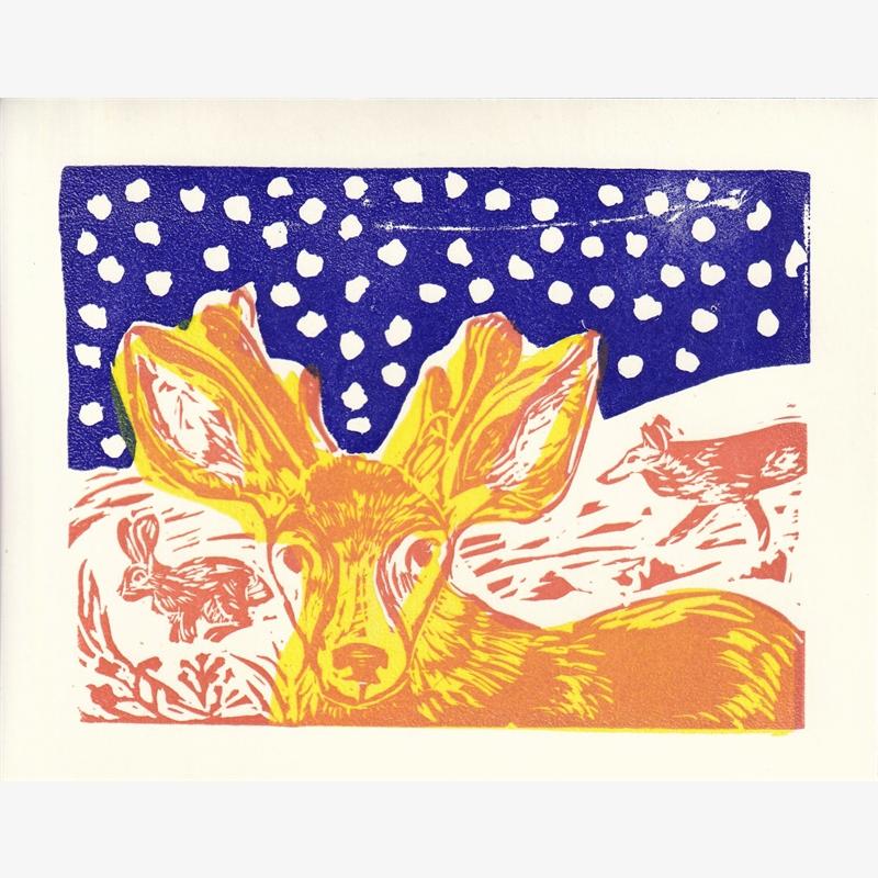 Deer Card, 2019