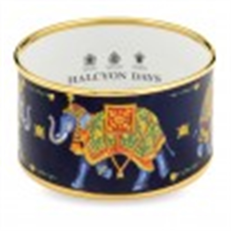 Ceremonial Indian Elephant Cuff Blue by Halcyon Days