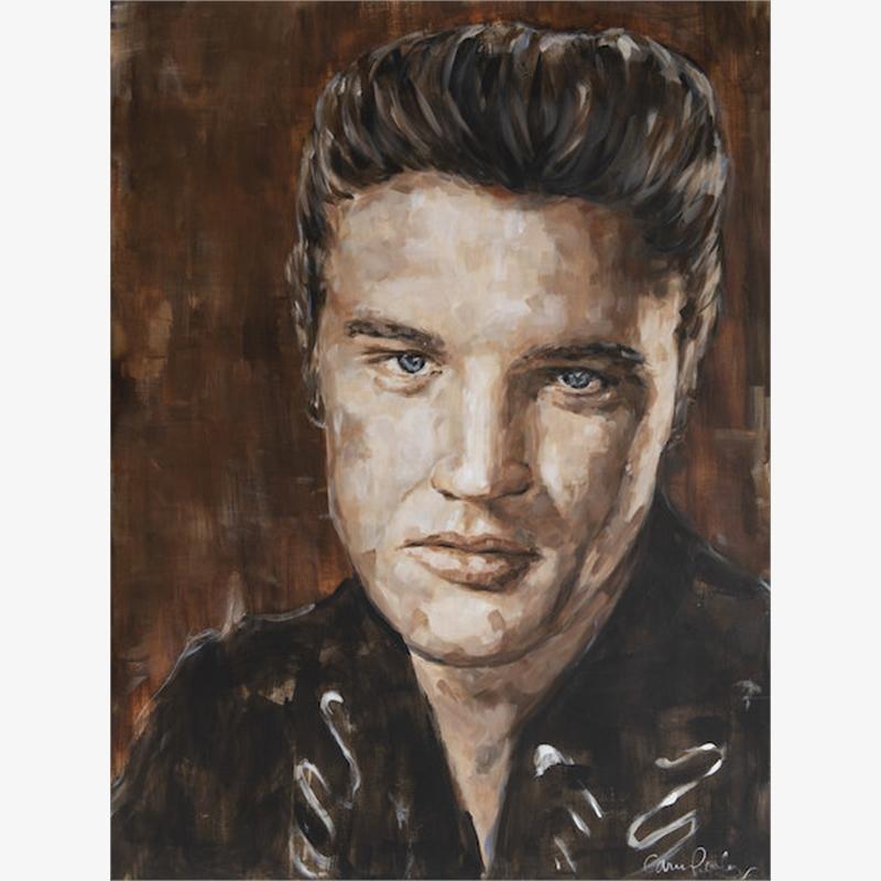 Elvis 12x16 Print 1, 2019