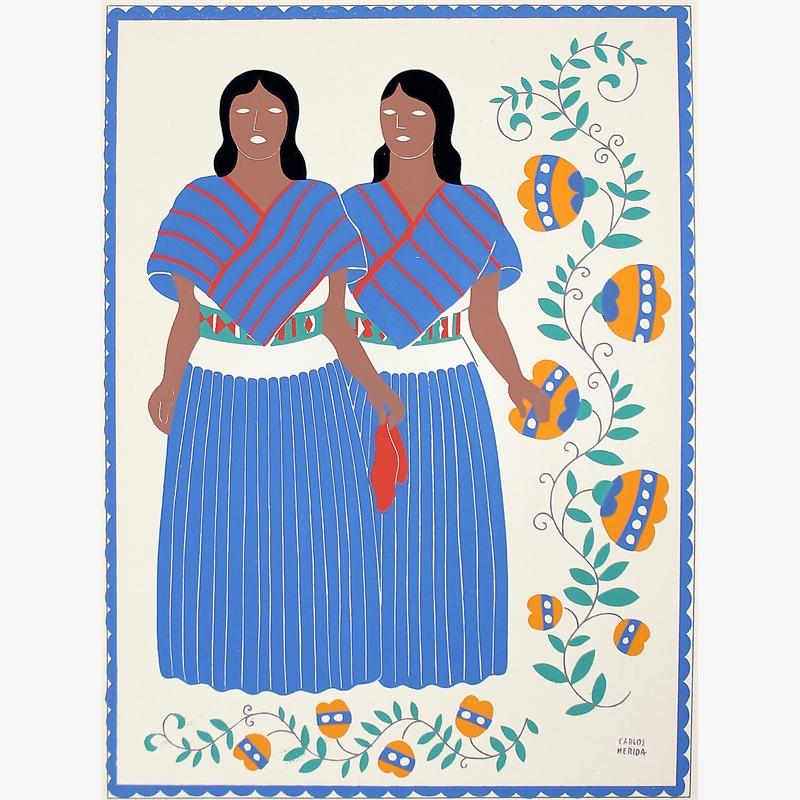 Otomíes, Estado de México, 1945