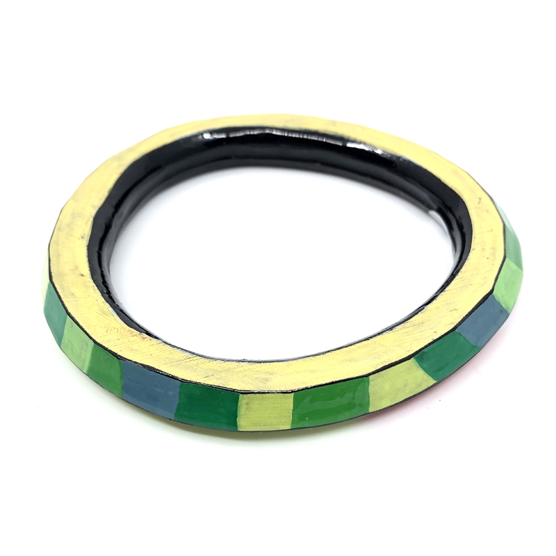 Bangle (green/yellow/red), 2019