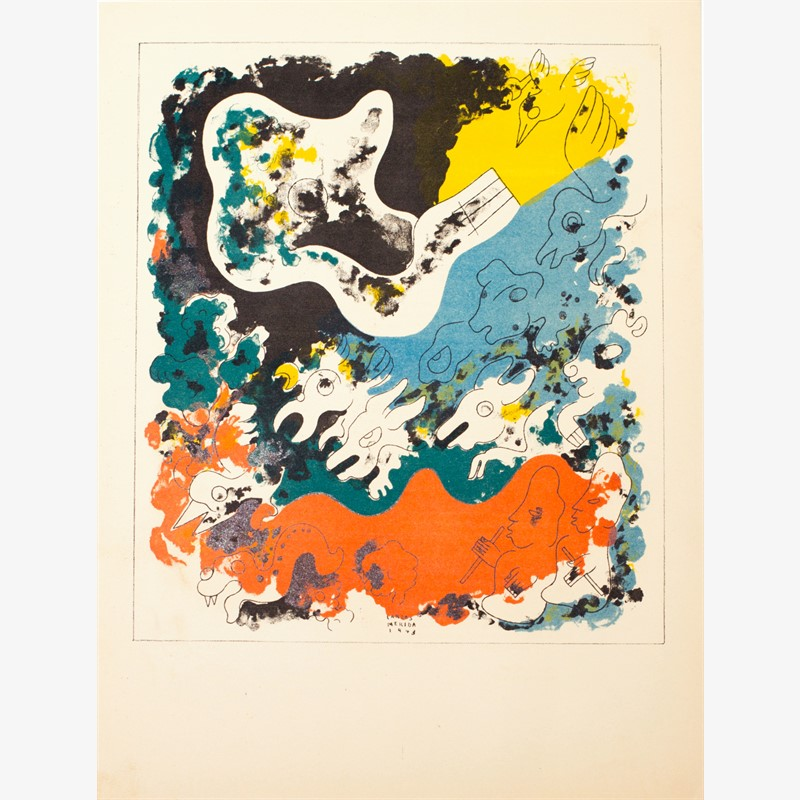 Estampas de Popol Vuh (Plate III), 1943
