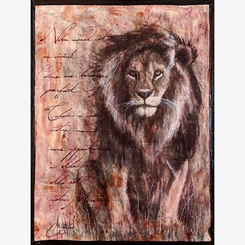 Sepia Cats, Lion 2