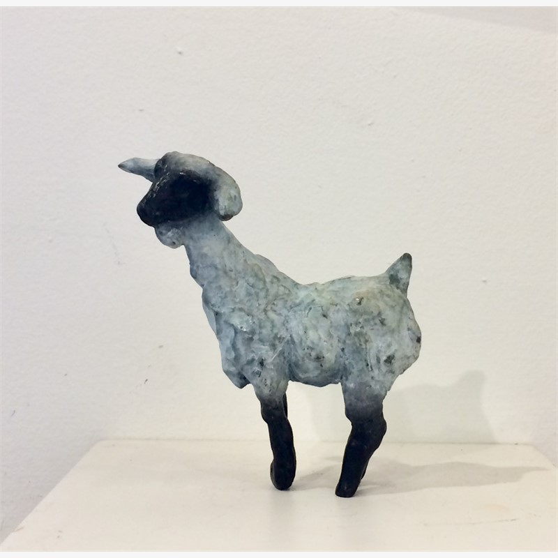 White and Black Goat, small (Edition 1), 2018