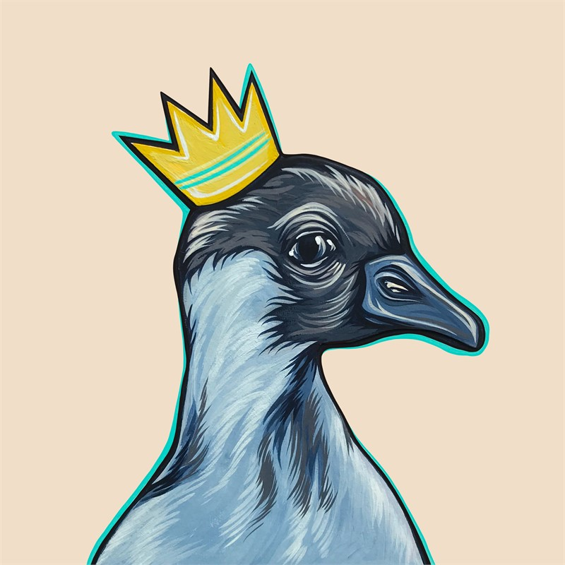 Mighty Ducks Teal Crown