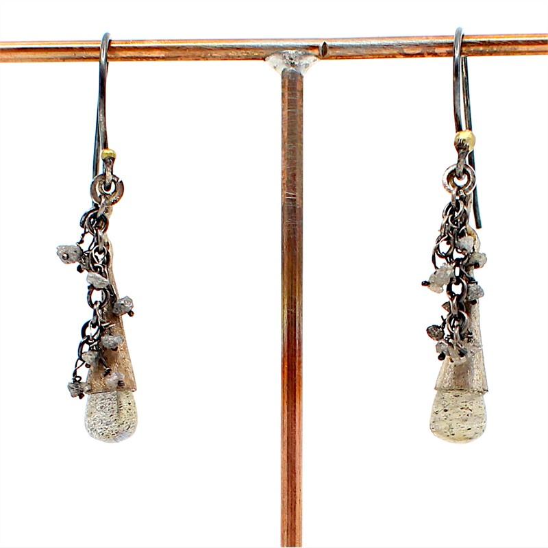 Drop Swing Earrings, 2019