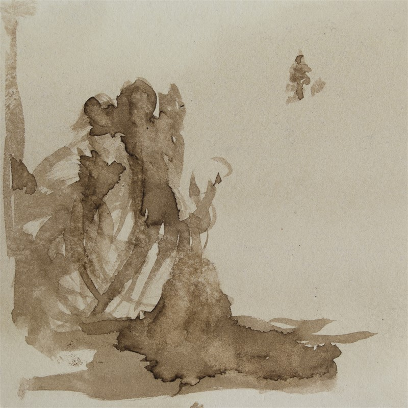 Steps in Sepia Series 4, SOLD, 2017