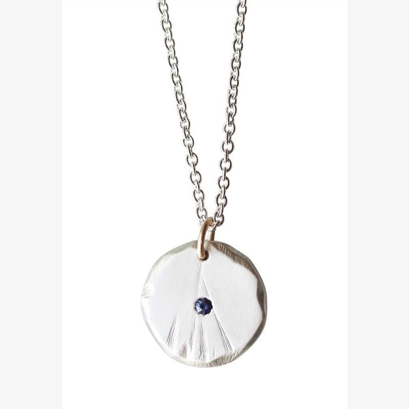 Sapphire Odessa Necklace Small, 2019