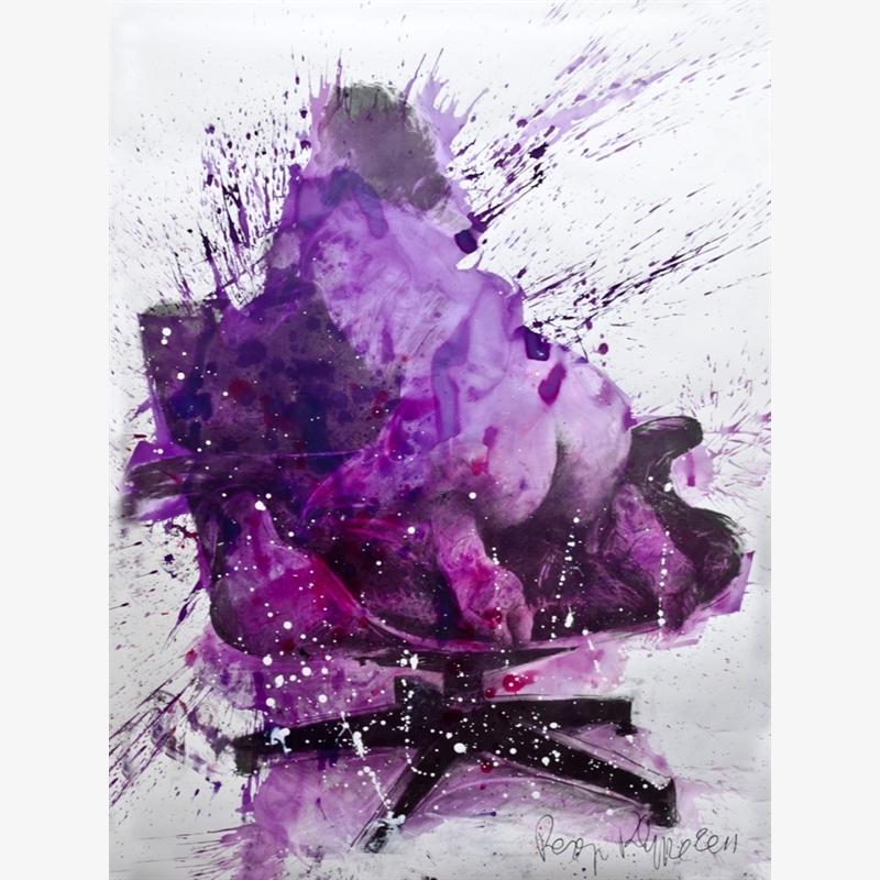 """""""Constance sur Fauteuil Eames"""", 2011"""