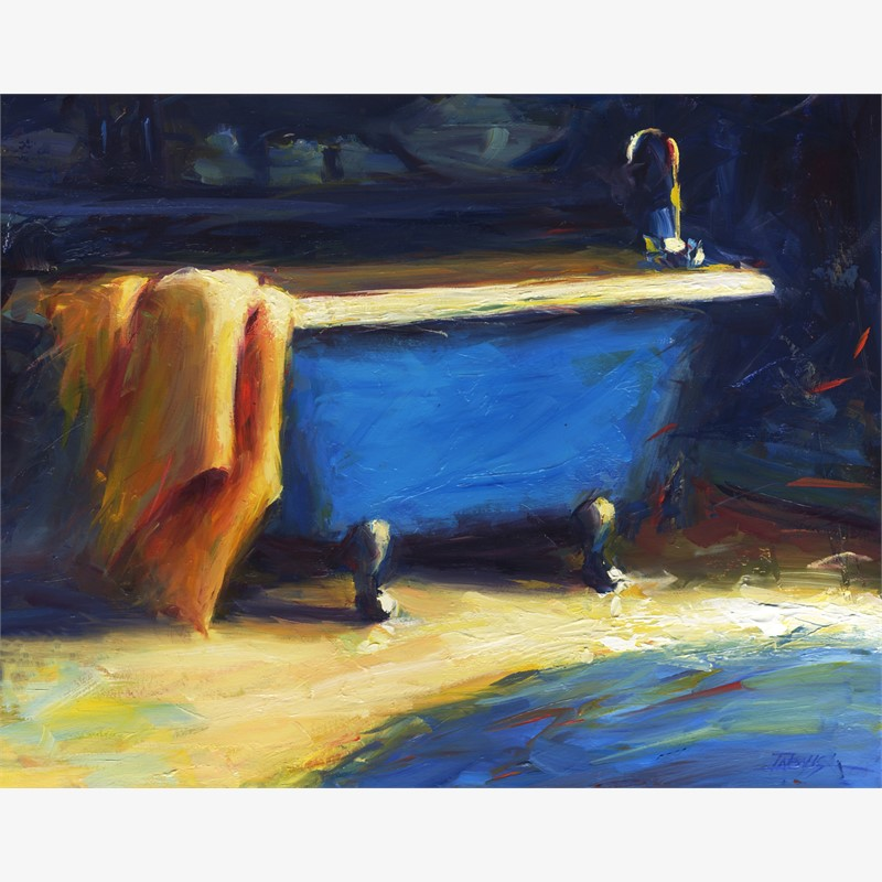 Blue Bath II