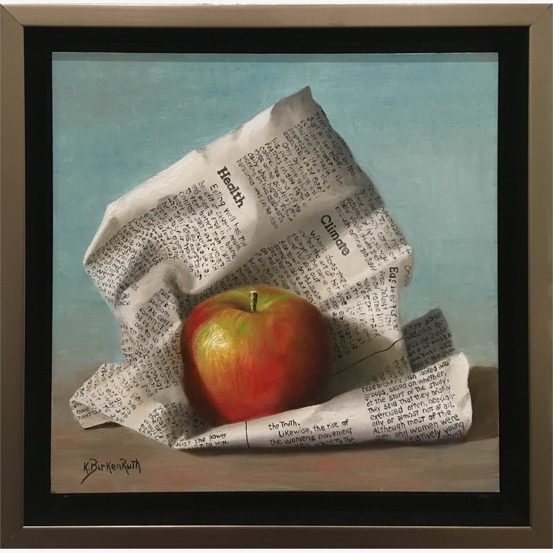 Wrapped Apple, 2018