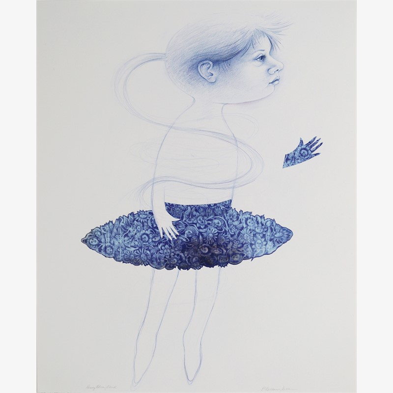 Heavy Blue Skirt, 2015