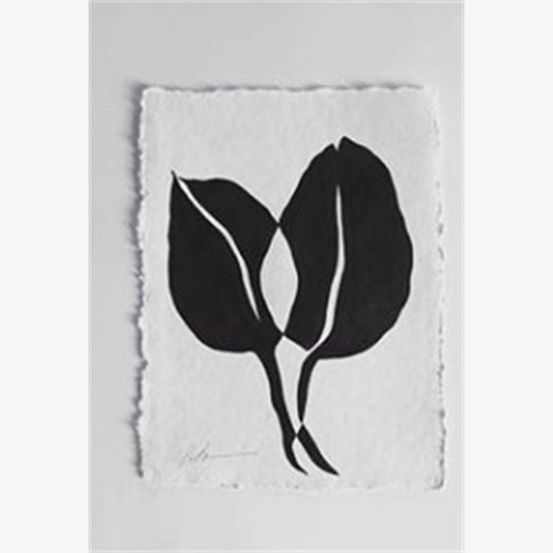 Flourish Series Continuous Line Botanicals 4, 2018