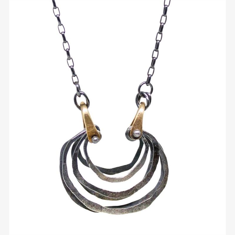 Micro Crescent Necklace, 2019