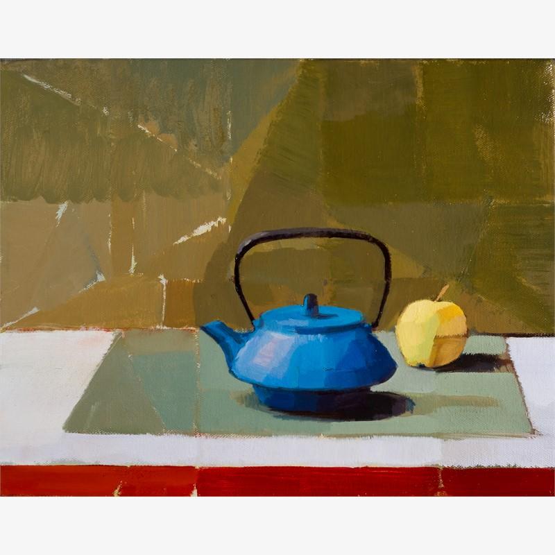 Teapot and Fruit