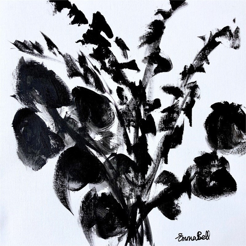 Black & White Eucalyptus I, 2018