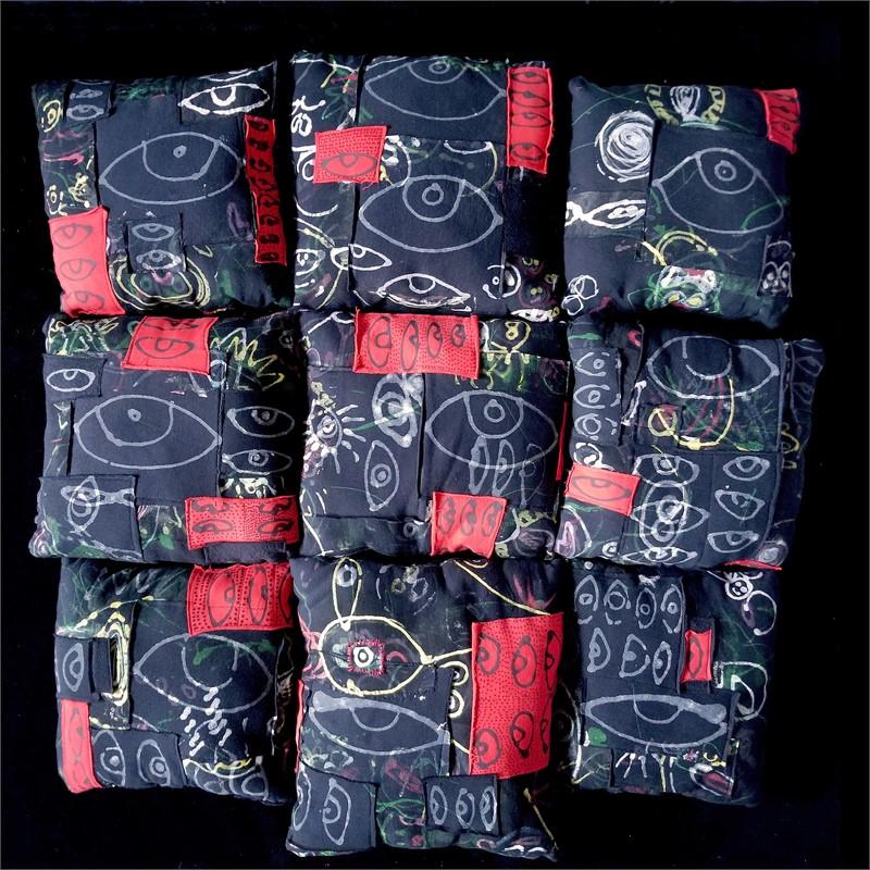 Ojo Pillows - Series of 9, 2018