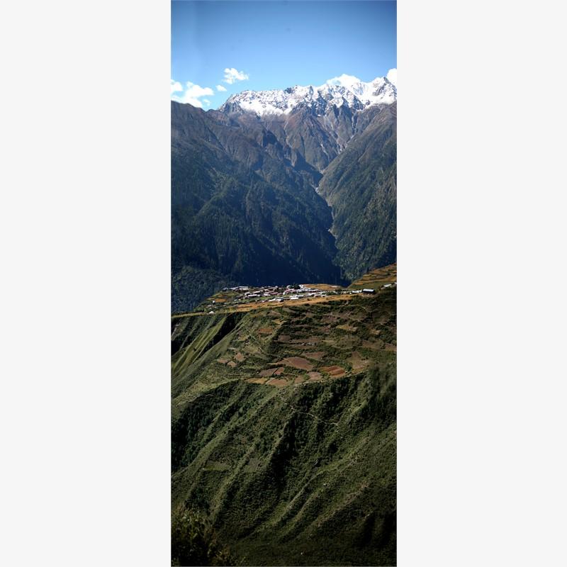 Gateway to Humla, Nepal