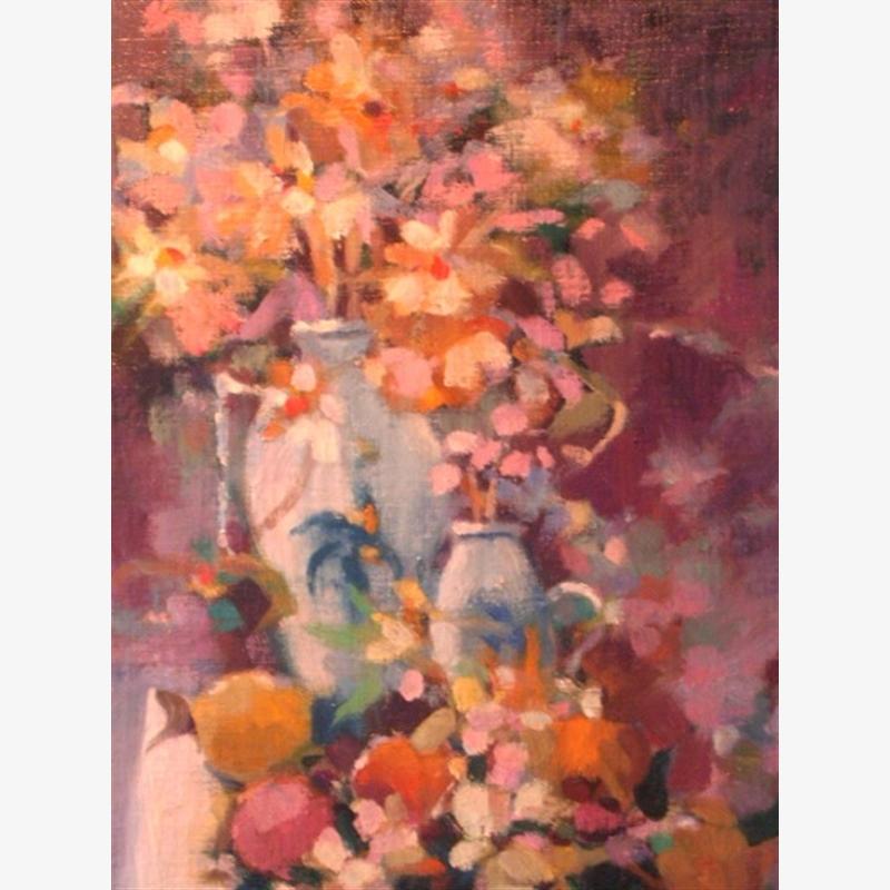 Warm Floral Colors