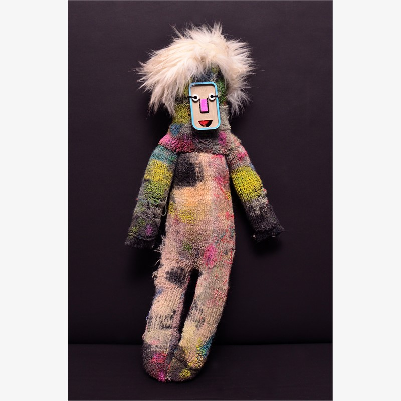 Back Up Clown (Three), 2018