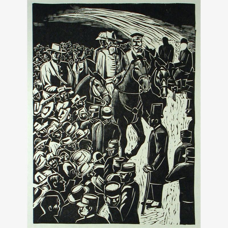 La Entrada del Ejercito Constitucionalista en la Ciudad de México. 20 de Agosto de 1914., 1960