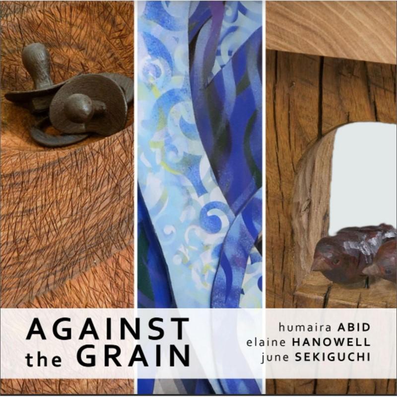 Against the Grain: Humaira Abid, Elaine Hanowell, and June Sekiguchi   exhibition catalog, 2014