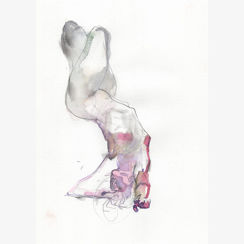 Watercolor Gesture 03, 2018