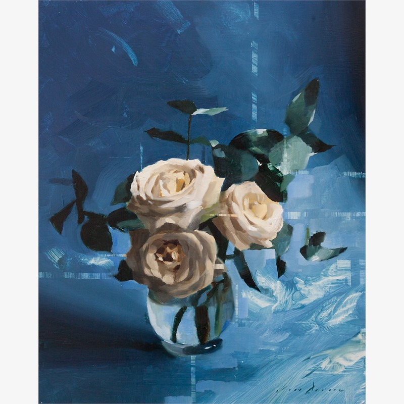 White Roses and Blue, 2018